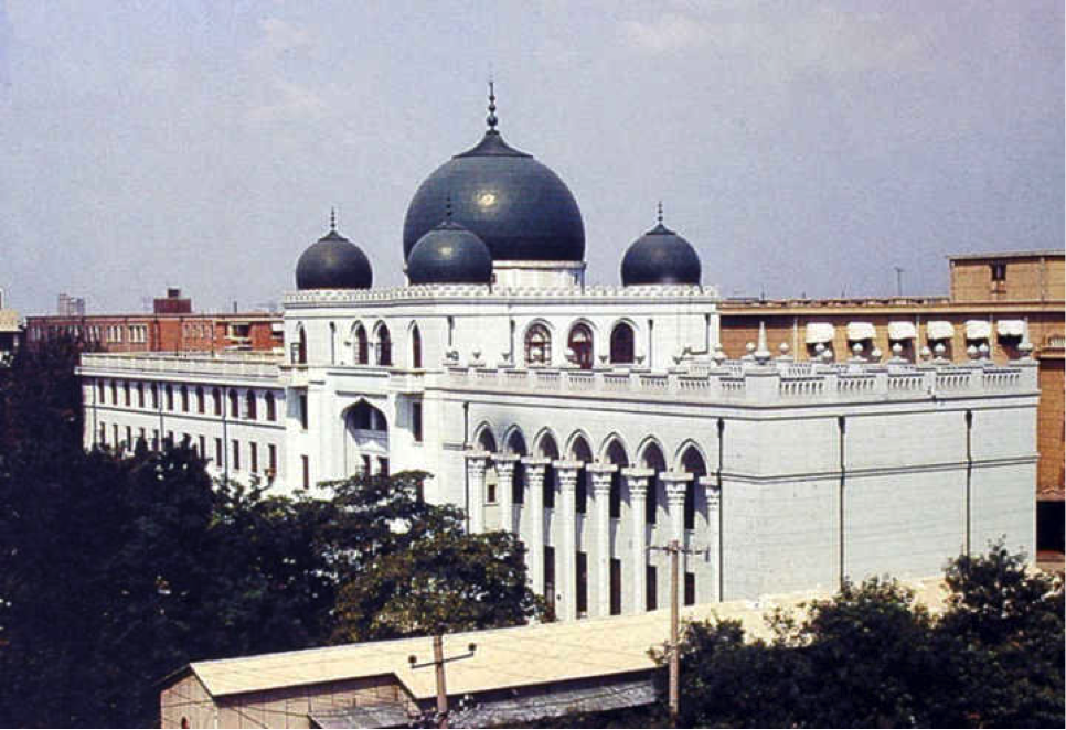 Zhao Dongri (1914–2005), the Headquarters of the Chinese Islamic Institute, 1957, Beijing.