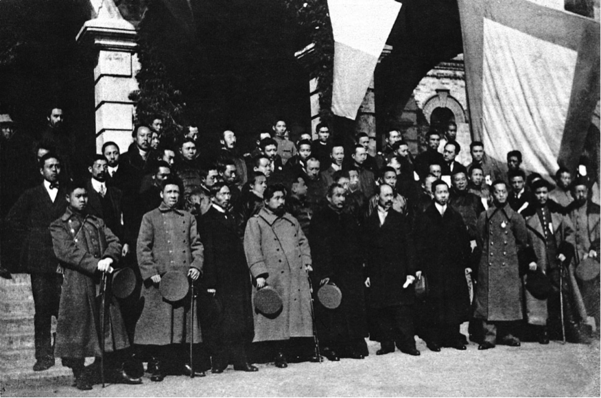 The Provisional Senate at the inauguration of the Republic of China, January 1, 1912